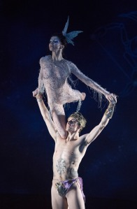 'Project Polunin' Dance performed at Sadler's Wells Theatre, London, UK