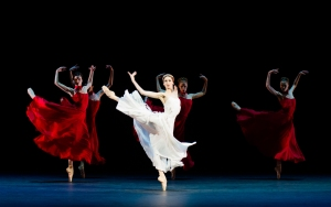 AMORE featuring Svetlana Zakharova in Francesca da Rimini photo by Roberto Ricci