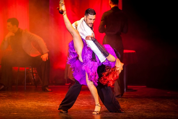 Giovanni Pernice and new Strictly professional Dianne Buswell in Dance is Life